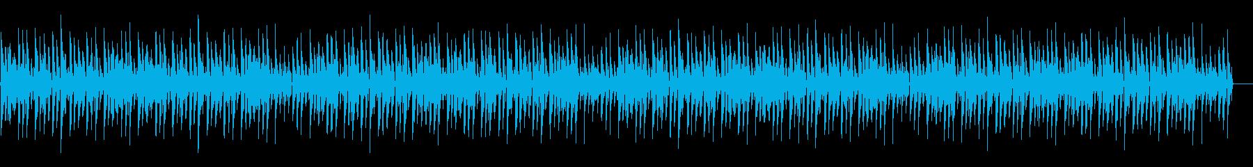 ほのぼの脱力系「大きな栗の木の下で」の再生済みの波形