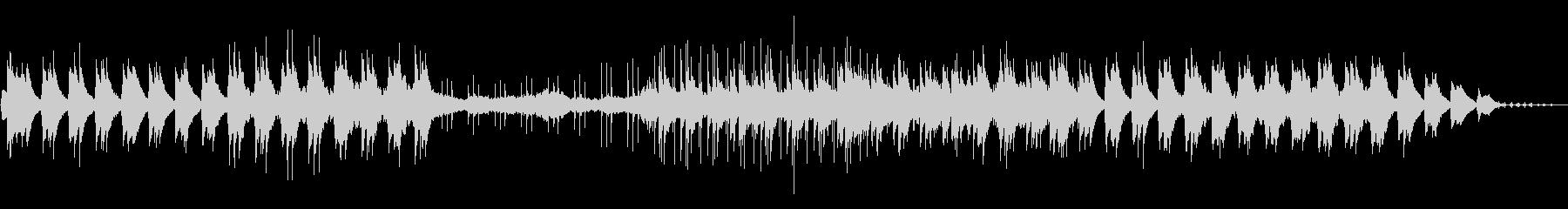 ピアノとストリングスのリゾート系バラードの未再生の波形