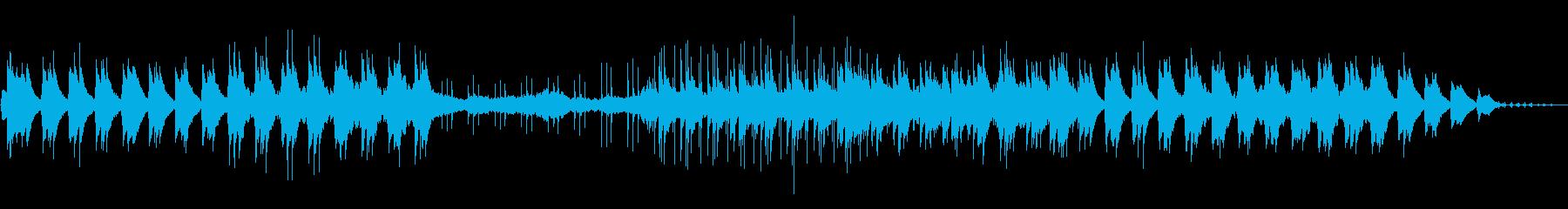 ピアノとストリングスのリゾート系バラードの再生済みの波形