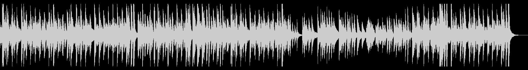 ソロのジャジーなピアノ曲。のんきで...の未再生の波形
