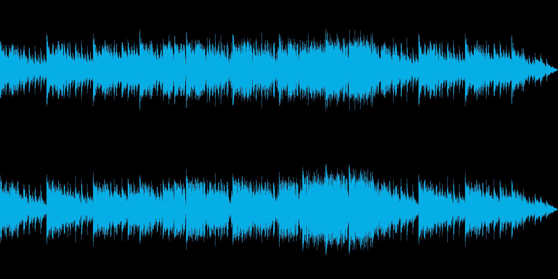 オシャレでビート感のあるジングルの再生済みの波形