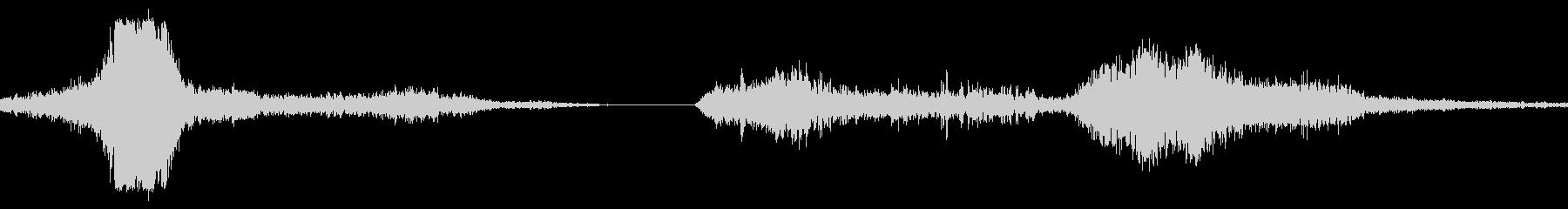 フォードTバードインファースト、ス...の未再生の波形