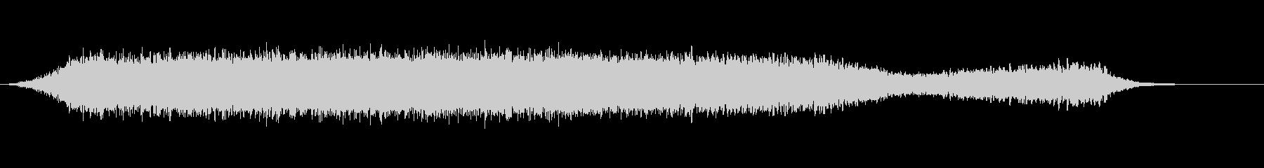 グリッティライザー、バズの未再生の波形