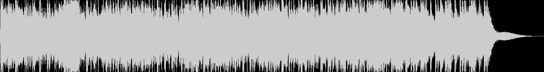 緊迫感・危機感を煽るジングル(40秒)の未再生の波形