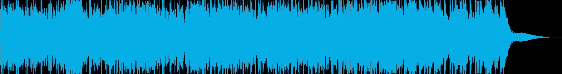 緊迫感・危機感を煽るジングル(40秒)の再生済みの波形
