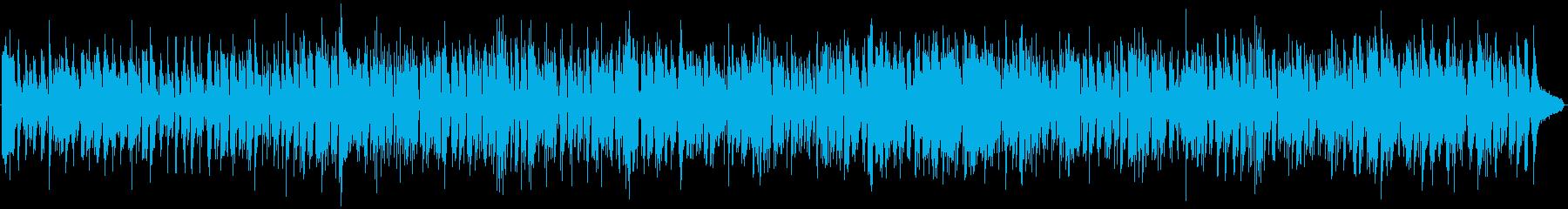 軽快で爽やかなボサノバの再生済みの波形
