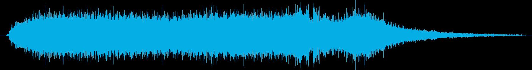 電動ハンドドリル:単一穴を金属にド...の再生済みの波形