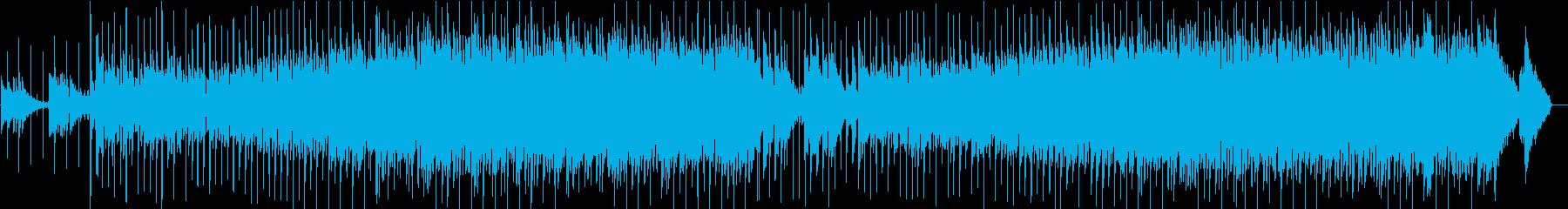 ポップ ロック ブルース カントリ...の再生済みの波形