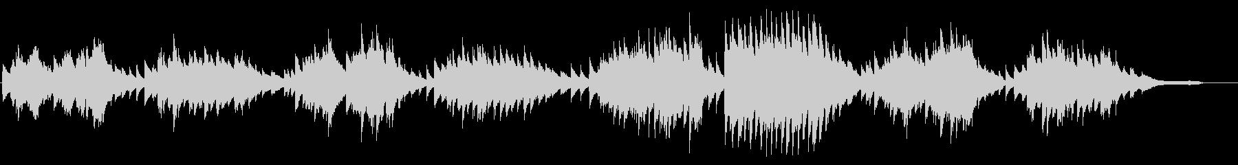 Chopinata Waltzの未再生の波形