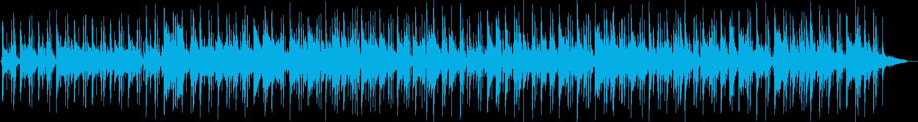 お洒落なチルアウトジャズの再生済みの波形