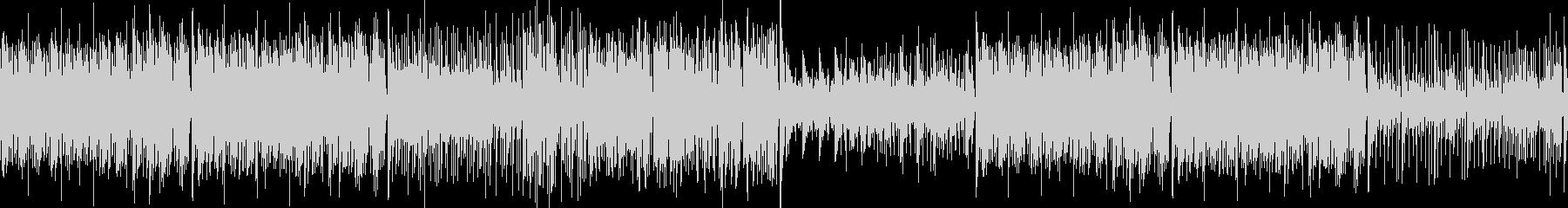 大人ジャズっぽい ピアノ ブラス ループの未再生の波形