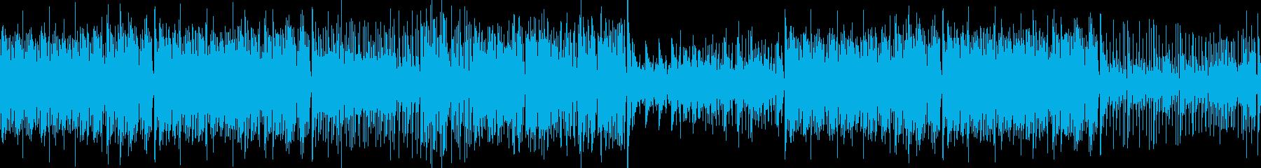 大人ジャズっぽい ピアノ ブラス ループの再生済みの波形