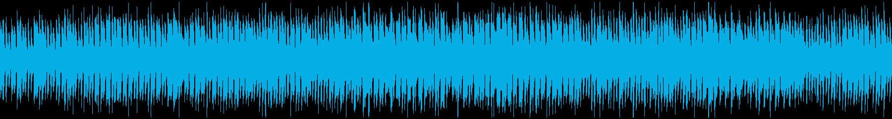 超ドタバタやかましいギャグ系 ※ループ版の再生済みの波形