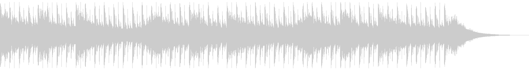 説明(30秒)の未再生の波形