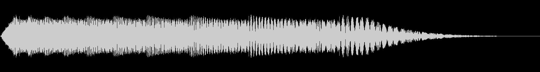 STACCATO LASER HIT 3の未再生の波形