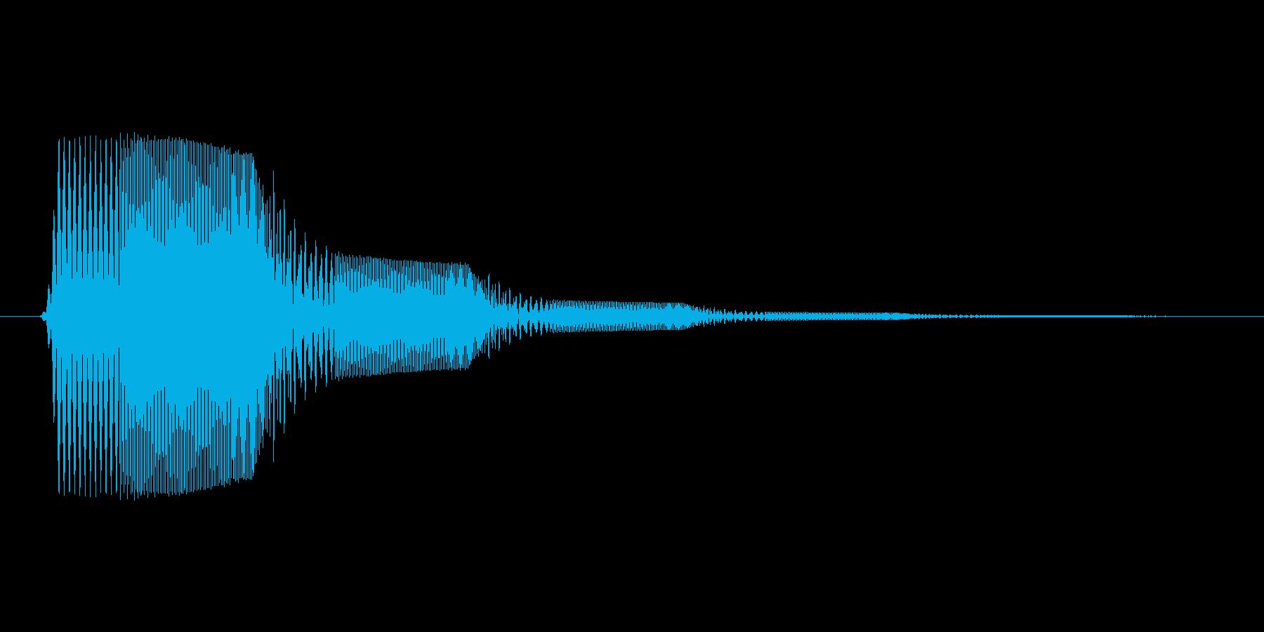 ファミコン風効果音決定音系です 03の再生済みの波形
