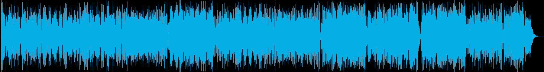パフュームっぽいダンス曲の再生済みの波形