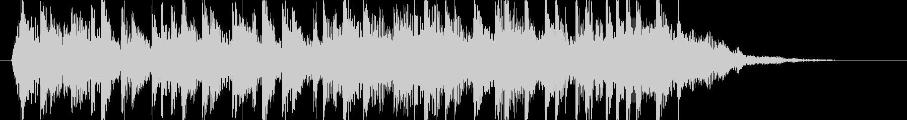 アコギ主体のマイナーなジングルの未再生の波形