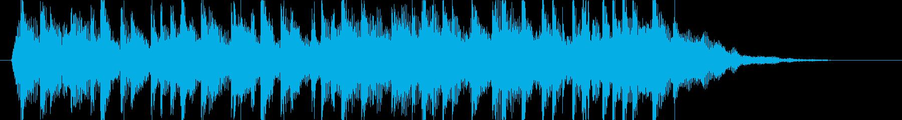 アコギ主体のマイナーなジングルの再生済みの波形
