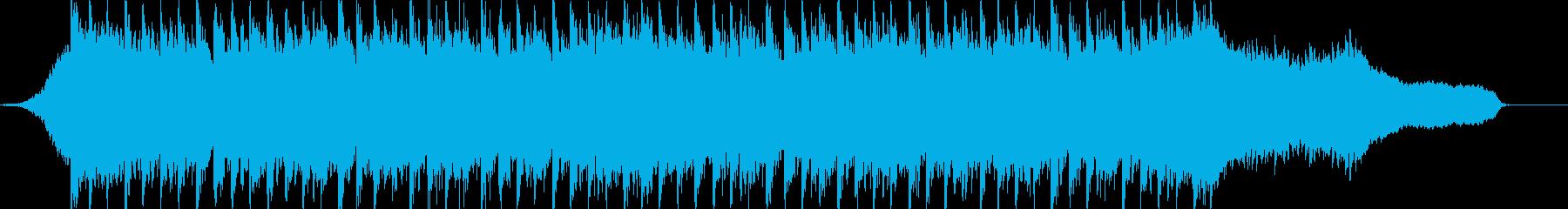 企業VP系58、爽やかピアノ、4つ打ちcの再生済みの波形