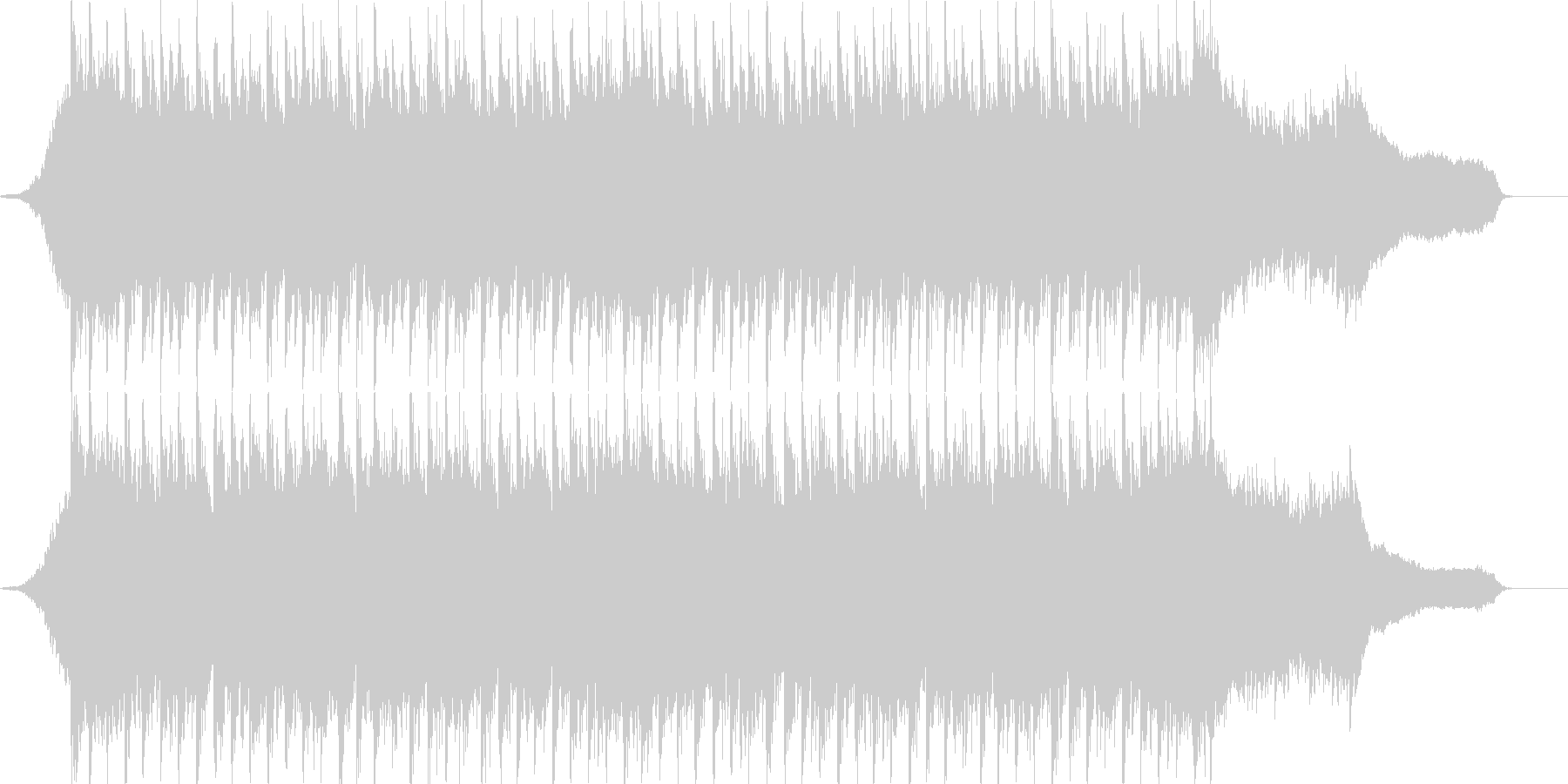 企業VP系58、爽やかピアノ、4つ打ちcの未再生の波形