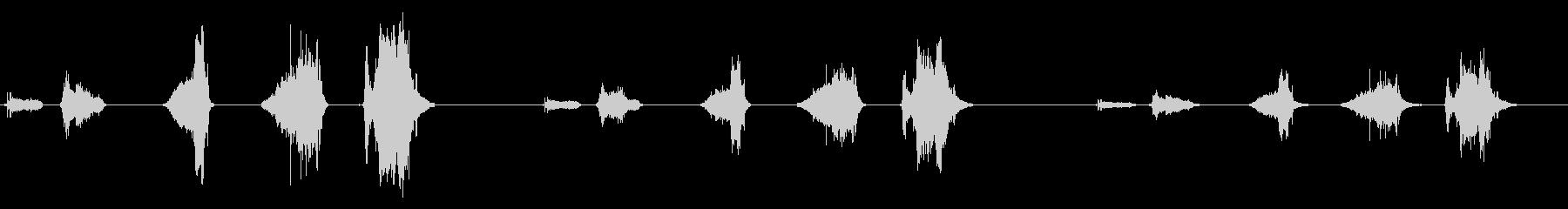 ローププル-3バージョンX 3スペ...の未再生の波形