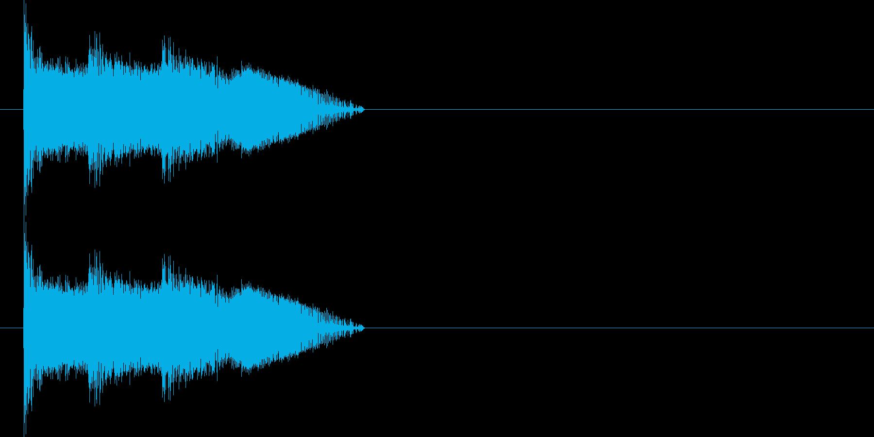 ビーム 14(3点バースト) の再生済みの波形