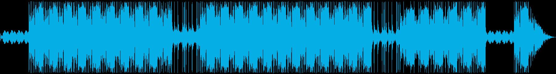 メニュー曲。の再生済みの波形