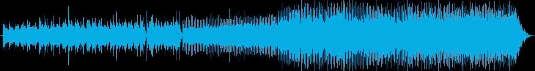 タイトル通りです。秋をイメージした曲で…の再生済みの波形