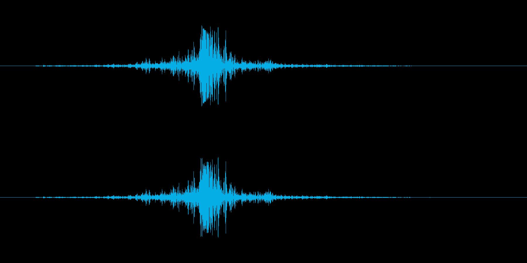 火 ヒューシュクラックリングロング01の再生済みの波形