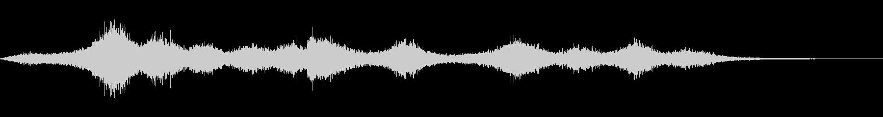 【生録音】 早朝の街 交通 環境音 29の未再生の波形