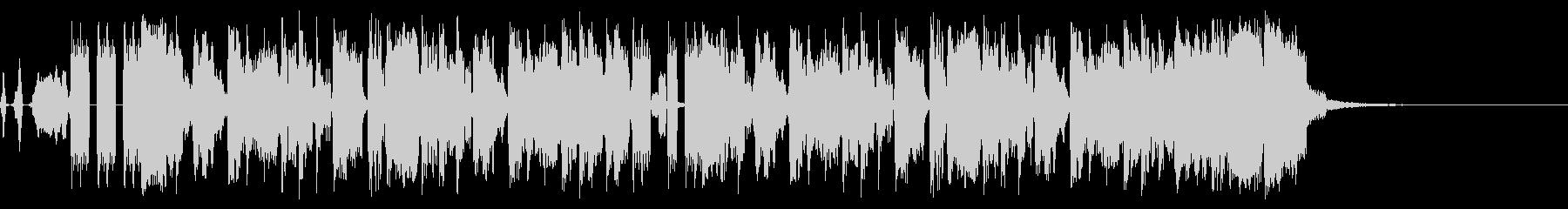 BMXストリートの未再生の波形