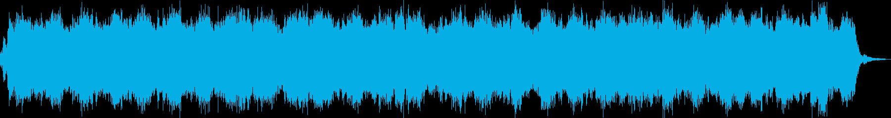 洋館探索ホラー系のBGMの再生済みの波形