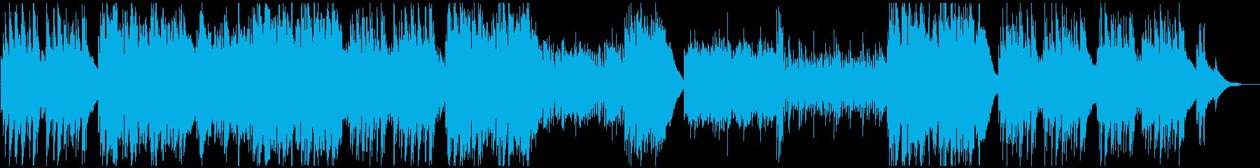 北欧_ほのぼのとしたケルト風ポップスの再生済みの波形