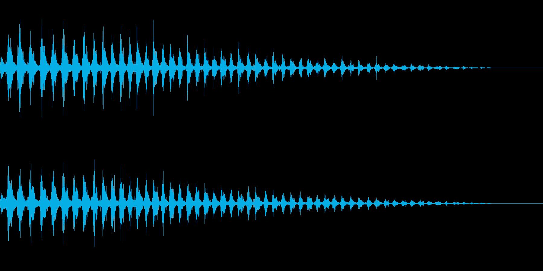 虫が飛び立つ音 竹とんぼ プロペラ飛行の再生済みの波形