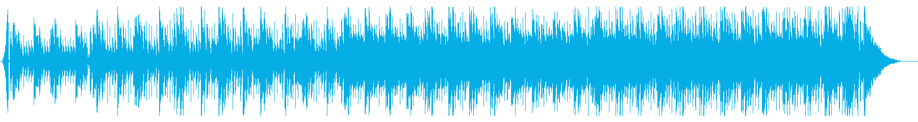 CM・スポーツ等にスピード感ある4つ打ちの再生済みの波形