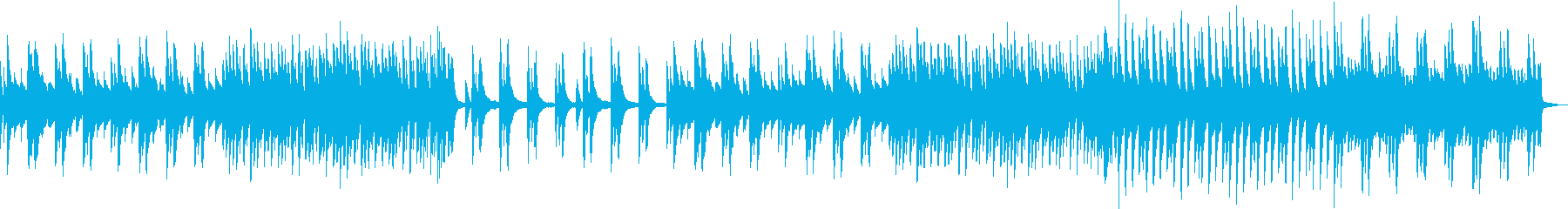 鼻歌をイメージした曲の再生済みの波形