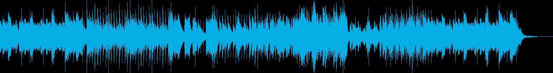 夏をイメージしたギターメインのBGMの再生済みの波形