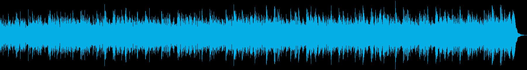 【CM】クールなエレクトロBGM・10の再生済みの波形