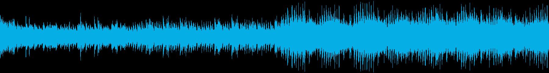 ゲームRPG村魔法夜宿屋星フィールド音楽の再生済みの波形