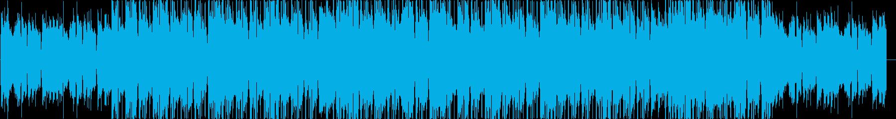 あるい感じのLo-fi HIPHOPの再生済みの波形