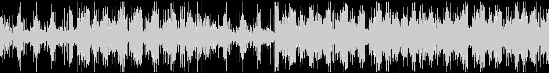 幻想的で民族音楽テイストのアコギBGMの未再生の波形