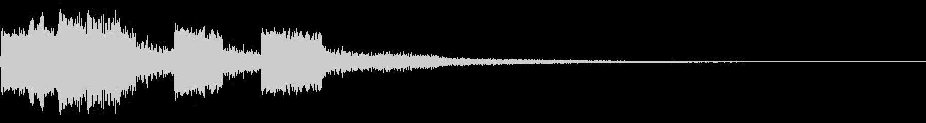 ピコピコ キュルルン ジャンプ Cの未再生の波形