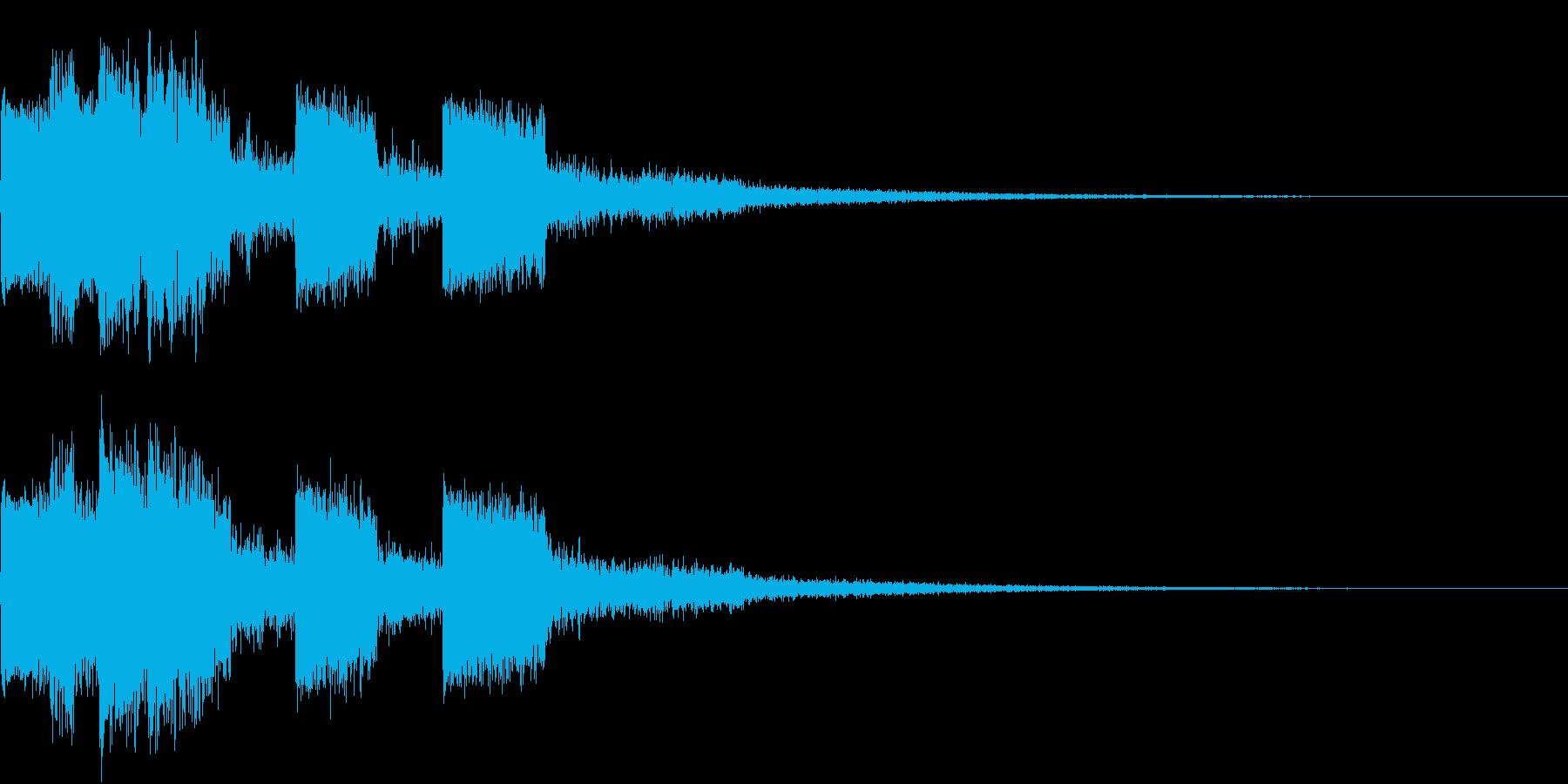 ピコピコ キュルルン ジャンプ Cの再生済みの波形