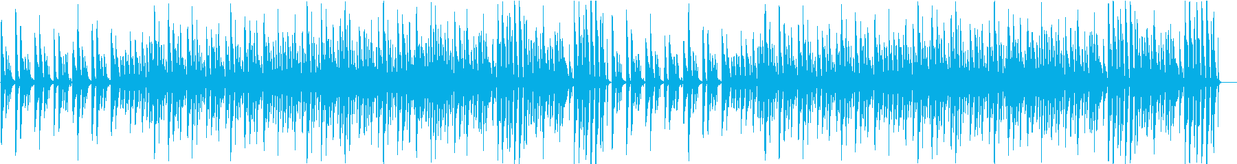 CM流行サウンドのライトアコースティックの再生済みの波形