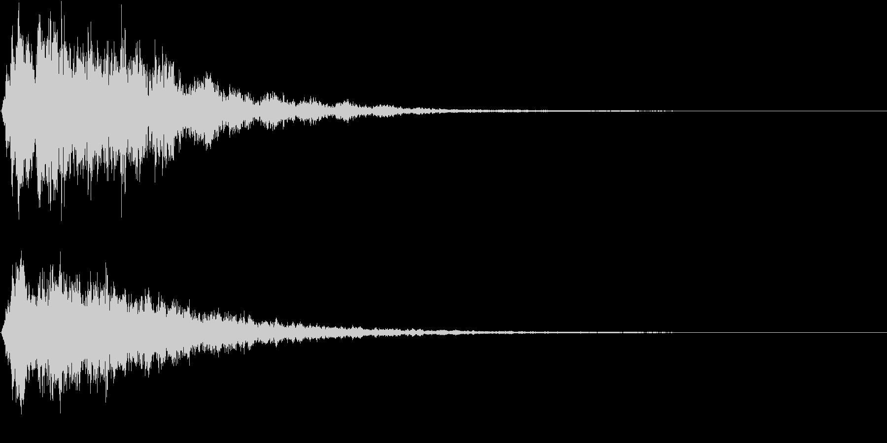 迫力のCINEMATICなスリル感覚の未再生の波形