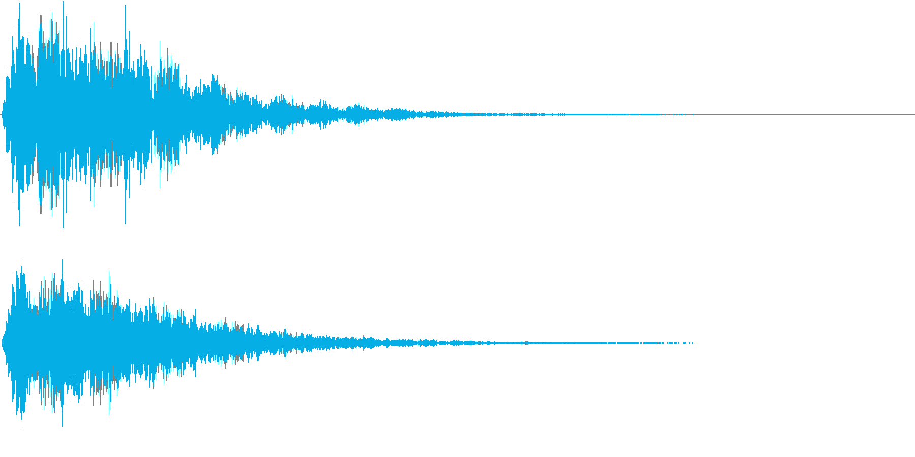 迫力のCINEMATICなスリル感覚の再生済みの波形