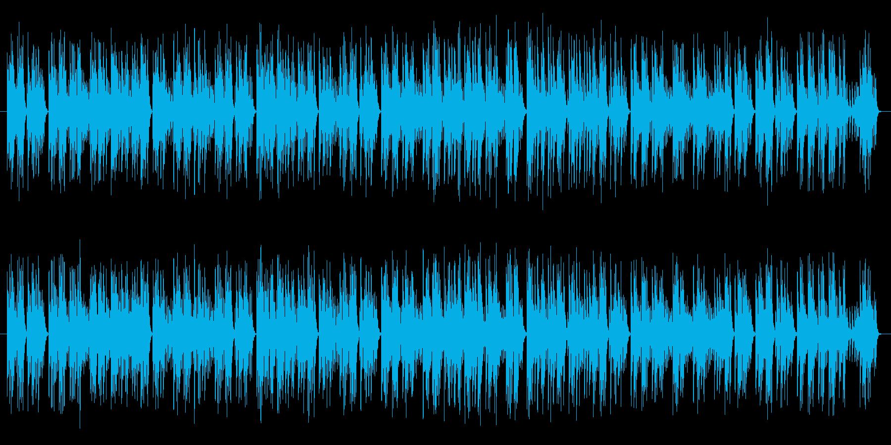 のんびりとしたオルゴール調の楽曲です。…の再生済みの波形