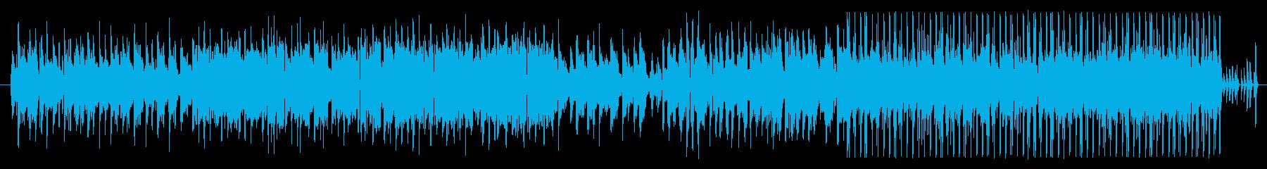 お洒落なリラクゼーションミュージックの再生済みの波形