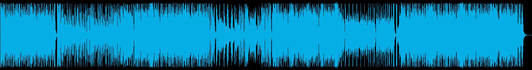 おしゃれ/J-pop_No590_1の再生済みの波形